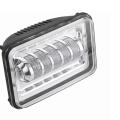 Светодиодная LED фара 50w для движения с четкой светотеневой границей