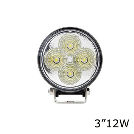 Универальная светодиодная LED фара12W ватт ближний свет