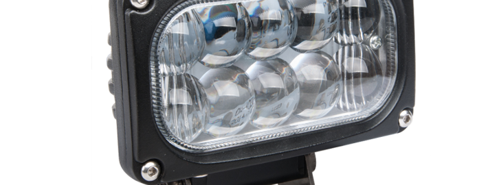 Универсальная светодиодная линзованная фара LED 30W H4