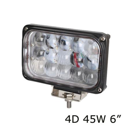 Универсальная светодиодная LED фара 45W ватт под Н4 ближний дальний