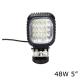 LED светодиодная фара 48W рабочий свет ближний свет